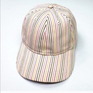 Madewell Accessories - NWT MADEWELL • Multi Pink Striped Baseball Hat Cap